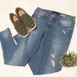 Aeropostale Distressed Blue Jeans